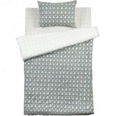 Комплект постельного белья «Сталь» полутораспальный поплин цвет серый в Алматы