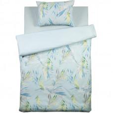 Комплект постельного белья «Органик» полутораспальный поплин цвет зелёный в Алматы