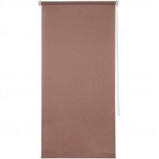 Штора рулонная Inspire «Шантунг», 80x160 см, цвет розовый в Алматы