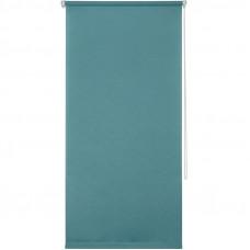 Штора рулонная Inspire «Шантунг», 70x160 см, цвет бирюзовый в Алматы