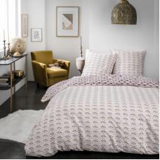 Комплект постельного белья «Веер Этника» двуспальный поплин розовый в Алматы