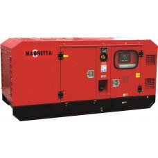 Дизельный генератор в тихом кожухе Magnetta D20E3+ATS163A в Алматы