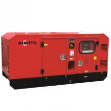 Дизельный генератор в тихом кожухе Magnetta D68E3 в Алматы