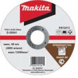 Отрезной армированный диск Makita 115х1,0 мм