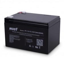 Аккумулятор MUST 12V/12Ah (152x99x96mm) в Алматы