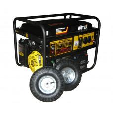 Бензиновый генератор HUTER DY6500LX (колеса)