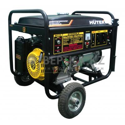 Бензиновый генератор HUTER DY8000LXA с АВР 64/1/30