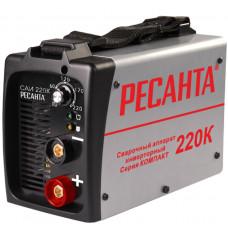 Сварочный инвертор Ресанта САИ 220К (компакт) в Алматы