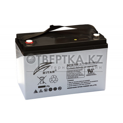 Аккумулятор Ritar 12V 100Ah (RA12-100S)