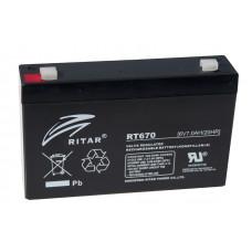 Аккумулятор Ritar 6V 7,8Ah (RT670) в Алматы