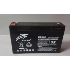 Аккумулятор Ritar 6V 9Ah (RT690) в Алматы