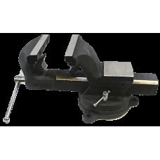 Тиски стальные поворотные с наковальней и съемными губками ROCKFORCE RF-6540605 в Алматы