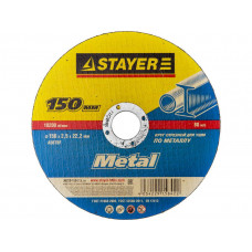 Круг отрезной абразивный STAYER MASTER по металлу, 150х2,5х22,2 в Алматы