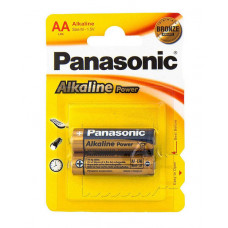 Батарейка щелочная PANASONIC Alkaline Power АА/2B в Алматы