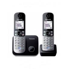 Радиотелефон PANASONIC KX-TG6812CAB Black-silver в Актау