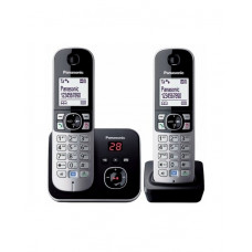 Радиотелефон PANASONIC KX-TG6822CAB Black-silver в Алматы