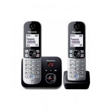 Радиотелефон PANASONIC KX-TG6822CAB Black-silver в Актау