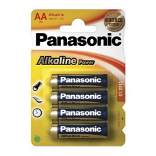 Батарейка щелочная PANASONIC Alkaline Power AA/4B в Алматы