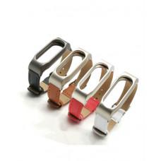 Ремешок для браслета Mi Band 2 Leather strap в Алматы