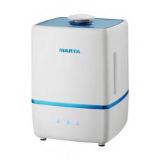 Увлажнитель воздуха MARTA MT-2668 с ионизацией синий сапфир в Алматы