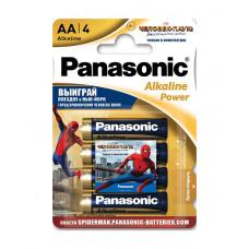 Батарейка щелочная PANASONIC Alkaline Power Promo pack AA/4B в Алматы