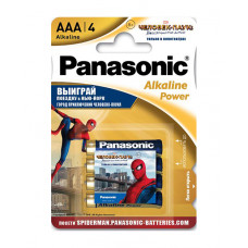 Батарейка щелочная PANASONIC Alkaline Power Promo pack AAA/4B в Алматы