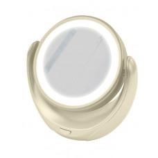 Зеркало косметическое с подсветкой MARTA MT-2653 молочный жемчуг в Алматы