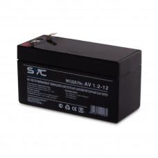 Аккумуляторная батарея SVC AV1.2-12 12В 1.2 Ач в Алматы