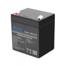 Аккумуляторная батарея SVC AV4.5-12 12В 4.5 Ач в Алматы