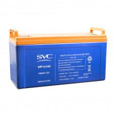 Аккумуляторная батарея SVC VP12100 12В 100 Ач в Алматы